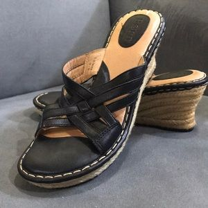 Born wedge sandals